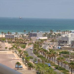 Vue mer côté plage des kshatot