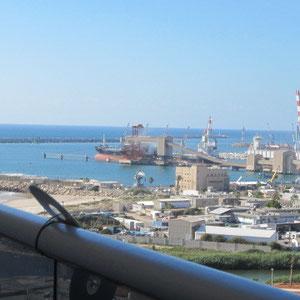 Vue mer et port