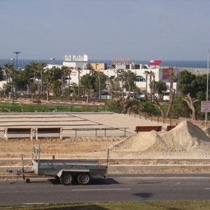 Face à la plage des Kshatot