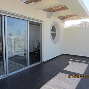 Terrasse au 2ème étage