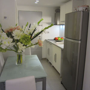 Salle à manger et kitchenette