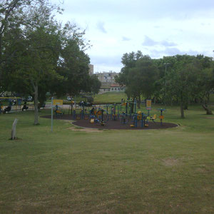 grand parc à proximité