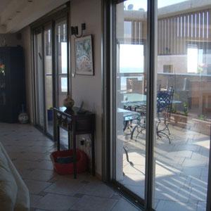 Grandes baies vitrées