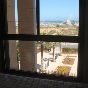 vue mer et jardins des chambres
