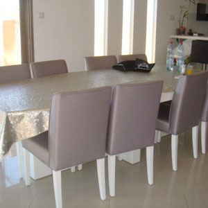 Salle à manger, dining area