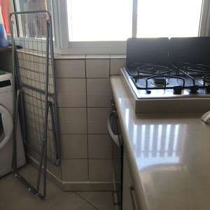 Gazinière et lave linge