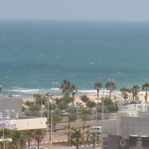 Vue mer côté Marina