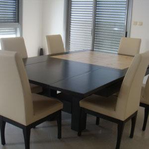 table extensible avec rallonge