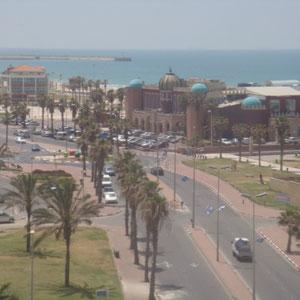 La Mamounia et la plage à proximité