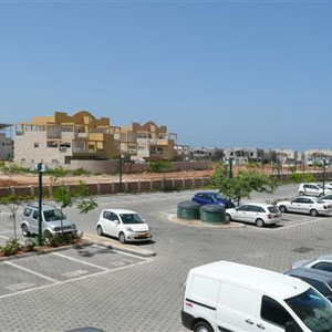 Parking et vue mer