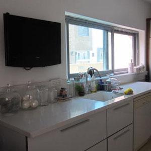 Télé dans la cuisine