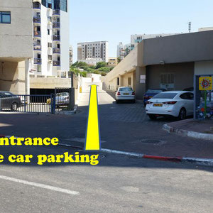 Accès au parking