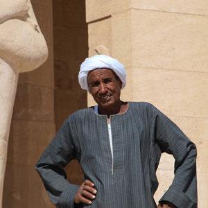 Luxor, Tempel der Hatschepsut, Wächter