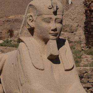Luxor, Luxor-Tempel, Sphingen-Allee