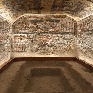 Luxor, Theben West, Tal der Könige, Grab des Ramses IV