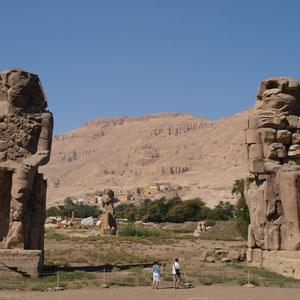 Luxor, Theben West,Memnon-Kolosse