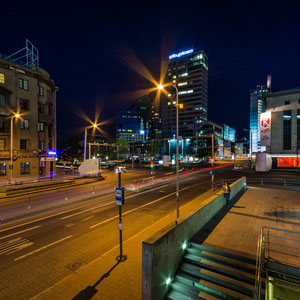 Das moderne Stadtzentrum von Tallinn