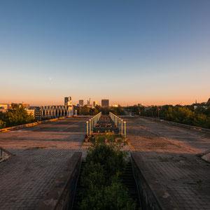 """Blick von der """"Tallinna Linnahall"""", die für die Segelwettbewerbe der Olympischen Sommerspiele 1980 im Moskau erbaut wurde..."""