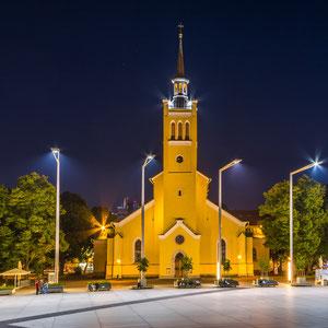 Die Jaani kirik (St. Johanniskirche) auf dem Freiheitsplatz im Stadtzentrum von Tallinn
