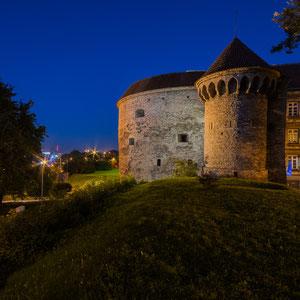 Der Verteidigungsturm Dicke Margarethe (Paks Margareeta) am Nordende der Altstadt