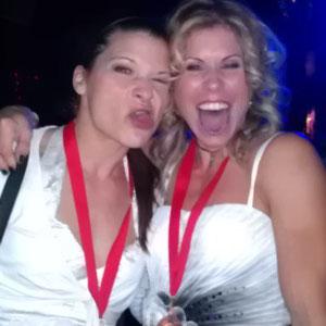 World Meisterschaft Budapest 2011 - Mona Arbinger, Zuzana Fucikova 2012