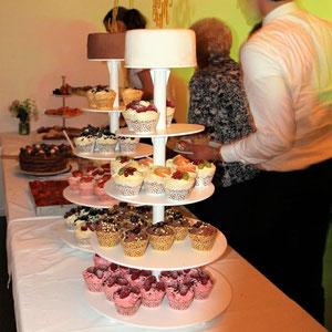 Cup Cake - Hochzeitstorte