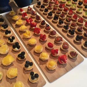 Mini-Tartes fürs Buffet