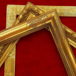 Die Kunst des stilvollen Rahmens - wir führen auch Echtgold-Modellrahmen