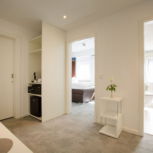 hallway family apartment