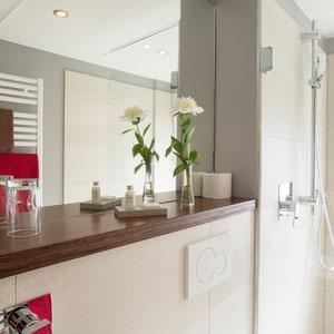 bathroom in family apartment
