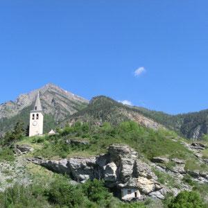 Panorama ouest - vue générale place d'Arnaudville