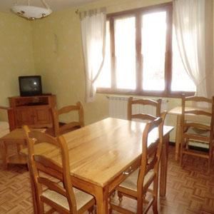 Lou Filadour - Location appartement de vacances à Jausiers - Appartement Le Marinet - Séjour