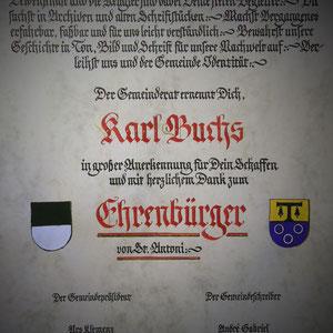 Ehrenbürgerschaft
