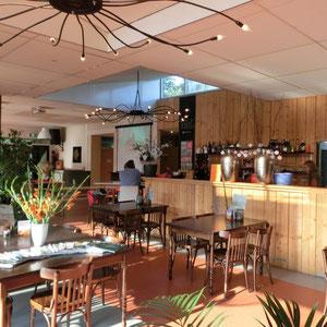 Das Restaurant Innen ( nur saisonal betrieben)