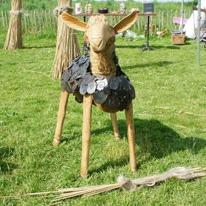 Création extérieure- Mouton bois et métal