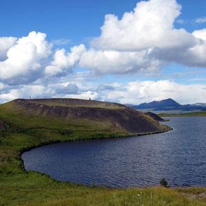 Pseudokrater am Mývatn-See
