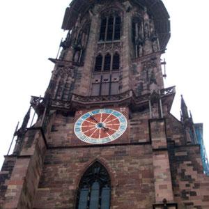 Turm des Freiburger Münster