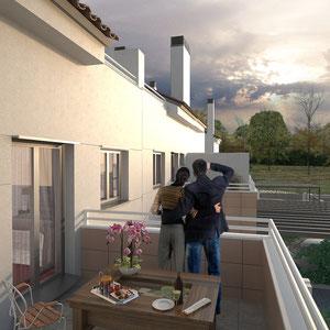 3D Exterior 2: Balcón
