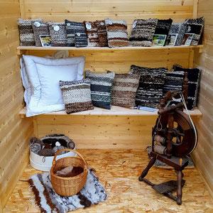Alpaka Shop mit Bettwaren
