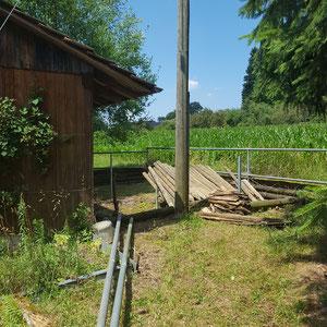 Erste Schritte beim Aufbau der Alpaka Farm