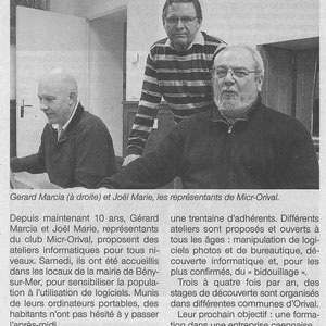 Logiciels Libres 14ème - 5 Avril 2014 - Ouest-France 20140410