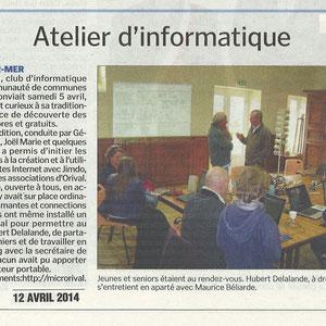 Logiciels Libres 14ème - 5 Avril 2014 - Bessin Libre 20140410