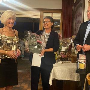 Marita Woznik - Vorsitzende FU Stein, Adelheid Seifert - Vorsitzende FU Kreis Fürth Land - Betram Hofer - Kreisrat Landkreis Fürth