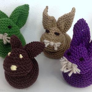 lustige Hasen zu Ostern