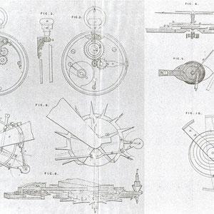 Brevet d'Adolphe Nicole. Patent N°10,348., 14 octubre 1844