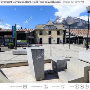 Gare SNCF. Saint-Gervais-les-Bains / Le Fayet
