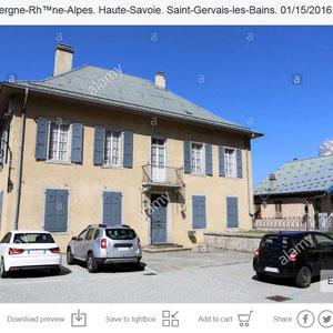 Presbytère. Saint-Gervais-les-Bains. Haute-Savoie.