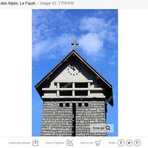 Eglise Notre-Dame des Alpes. Le Fayet / SaintGervais-les-Bains.