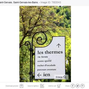 Parc thermal. Saint-Gervais-les-Bains/Le Fayet.