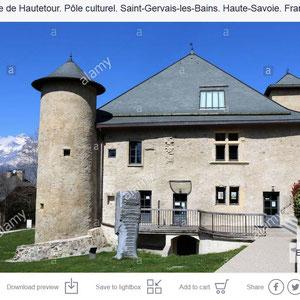 Maison Forte Hautetour. Saint-Gervais-les-Bains. Haute-Savoie.